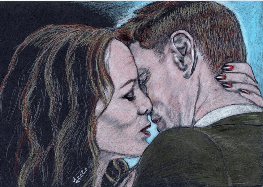 Emily Swallow, Jensen Ackles par Vanessafari